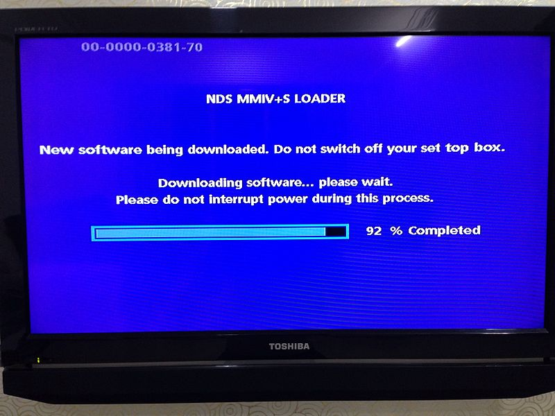 File:Set-top box firmware being updated.jpg