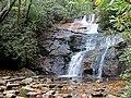 Setrock Creek Falls Black Mountain Campground Pisgah Nat Forest NC 4404 (37238436664).jpg