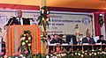 Sharad Pawar addressing at the inauguration of the newly constructed North Academic Block of the College of Agriculture Engineering and Post Harvest Technology near Ranipool, in Sikkim on November 30, 2013.jpg