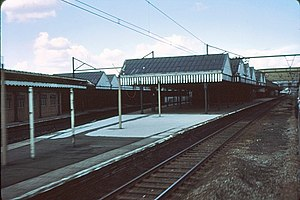 Sheffield Victoria railway station - The station after closure in 1971
