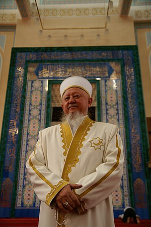 Imam khatib (Sunni Islam) - Image: Sheikh Absattar Derbisali