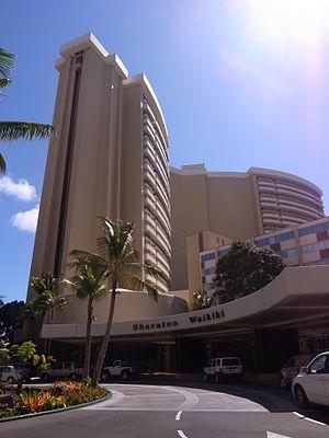 Sheraton Waikiki Hotel - Image: Sheraton waikiki