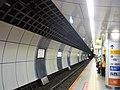 Shimo-Kitazawa Station Platform Track number 1 20180304.jpg