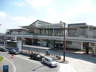 Kita-Narashino Station Railway station in Funabashi, Chiba Prefecture, Japan