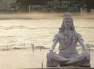 Parmarth Niketan - Image: Shiva in rishikesh