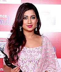 Shreya Ghoshal Shreya Ghoshal at Filmfare Awards South.jpg