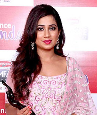 Shreya Ghoshal - Ghoshal at the 62nd Filmfare Awards South, 2015