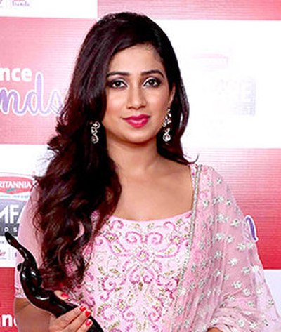 Picture of a band or musician: Shreya Ghoshal