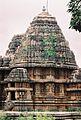 Shrine and tower at Lakshminarasimha Temple in Haranhalli.JPG