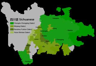 Chengdu-Chongqing dialect Variety of Mandarin Chinese