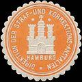 Siegelmarke Direktion der Straf- und Korrektions-Anstalten Hamburg W0355991.jpg