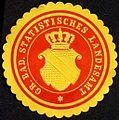 Siegelmarke Grossherzoglich Badische Statistisches Landesamt W0232830.jpg