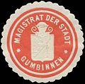 Siegelmarke Magistrat der Stadt Gumbinnen W0384224.jpg