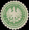 Siegelmarke Prov. Arbeits-Anstalt zu Brauweiler W0365990.jpg