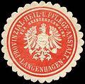 Siegelmarke Provinzial - Heil - und Pflege - Anstalt für Geistesschwache - Langenhagen W0226625.jpg