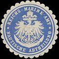 Siegelmarke Reichs-Marine-Amt Nautische Abtheilung W0353215.jpg