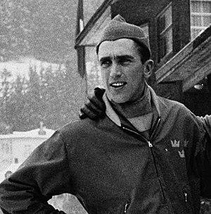 Sigvard Ericsson - Sigge Ericsson in 1956