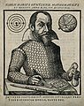Simon Marius (Mayr). Woodcut, 1614. Wellcome V0003861.jpg
