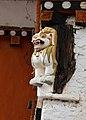 Simtokha Dzong - Lion 02.jpg