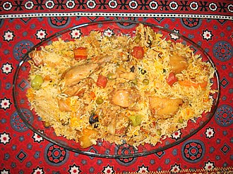South Asian cuisine - Sindhi biryani