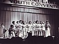Singing Group at Mennonite Church Cross Cultural Youth Convention, 1972 (16599333469).jpg