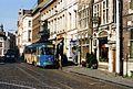 Sint-Veerleplein,Ghent. Tram nr 52 , route 40 1994 - Flickr - sludgegulper.jpg