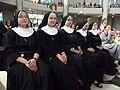 Siostry zakonne podczas uroczystej mszy św. (9531297668).jpg