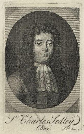 Sir Charles Sedley, 5th Baronet - Sir Charles Sedley
