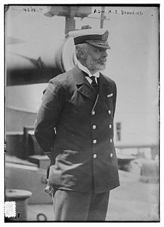 Montague Browning senior Royal Navy officer
