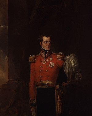 William Maynard Gomm - Portrait by William Salter (oil on canvas, 1834-1840)