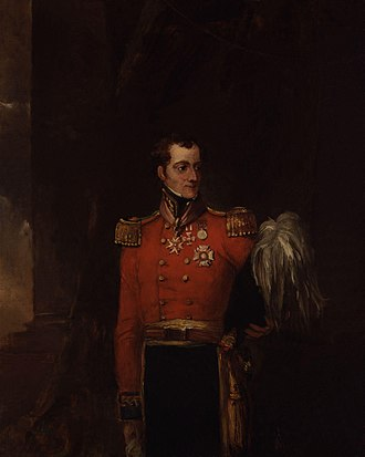William Maynard Gomm - Portrait by William Salter (oil on canvas, 1834-1840)