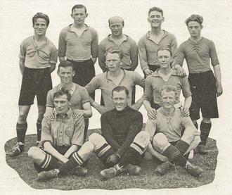 1926–27 Landsfodboldturneringen - Image: Skovshoved Idrætsforening team line up Vinder af Provinsmesterskabet 1927
