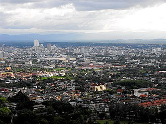 Hat Yai - Image: Skyline of Hat Yai City, June 2012 by