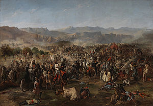 Francisco de Paula Van Halen - The Battle of Las Navas de Tolosa