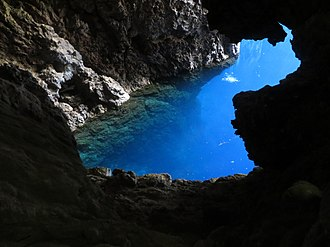Chinhoyi - Sleeping Pool, Chinhoyi caves