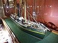 Slottsfjellsmuseet Museum Tønsberg Norway. Svend Foyn whaling pioneer Spes & Fides 1863 Whaler Steamer Harpoon cannon Ship model Hvalbåt Dampskip Harpunkanon Skipsmodell 2020-01-21 DSC02160.jpg