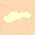 Slovakia map blank.png
