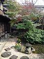 Small garden in courtyard of the Garden of Tachibana Clan.jpg