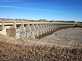 Small pools of water gather at the bottom of the Garrison Dam in North Dakota Oct. 30, 2011 111030-A-GX971-155.jpg