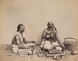 Smarta tradition - Smarta Brahmins in western India (c. 1855-1862).
