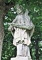 Socha svatého Jana Nepomuckého u domu 406 ve Starých Křečanech (Q104983723) 02.jpg