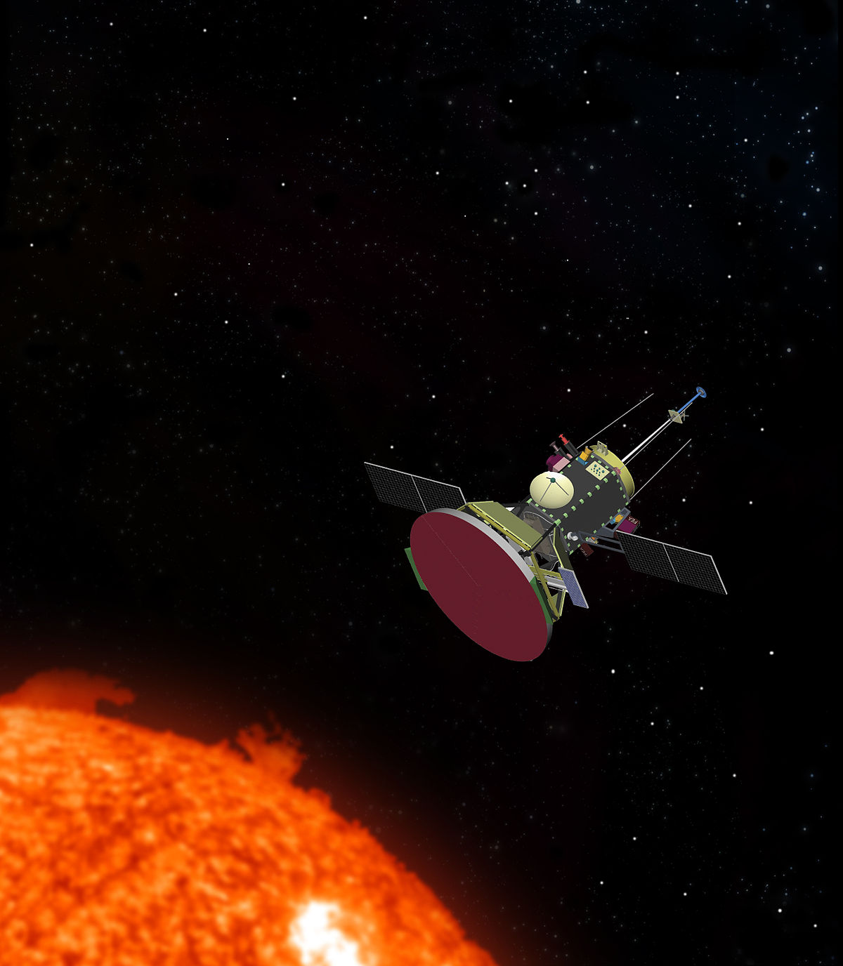 parker solar probe wikipedia