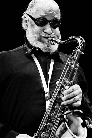 English: Sonny Rollins in concert