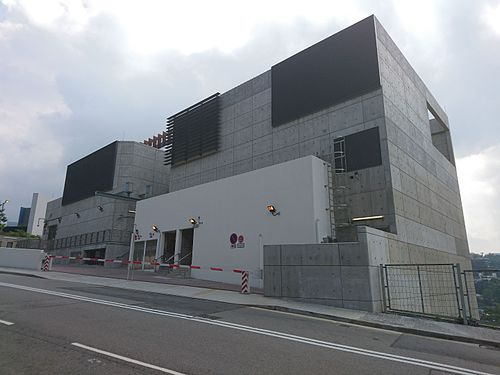 South Island Line Nam Fung Portal South Entrance Building in Nov 2016.jpg