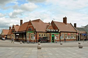 Southend Victoria railway station - Image: Southend Victoria railway station