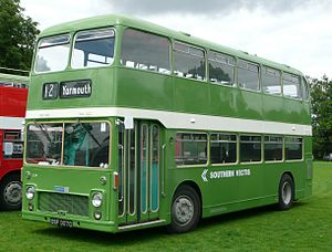 Bristol VR - Preserved Southern Vectis Eastern Coach Works bodied Bristol VR in July 2008