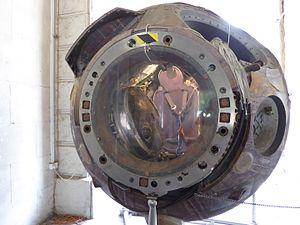 Mirosław Hermaszewski - The Soyuz 30 landing capsule in which Mirosław Hermaszewski returned to Earth, on display in the Polish Army Museum in Warsaw