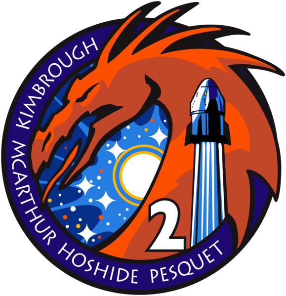 File:SpaceX Crew-2 logo.png