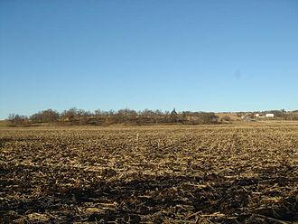 Spafford Farm massacre - The massacre occurred in this area near the Pecatonica River.