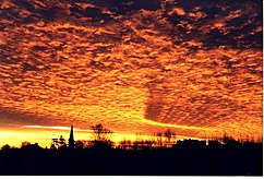 Spectacular sunrise over Harby - geograph.org.uk - 248151.jpg